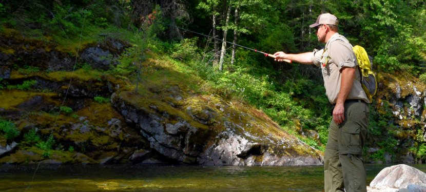 Tenkara Angling for Mountain Trout