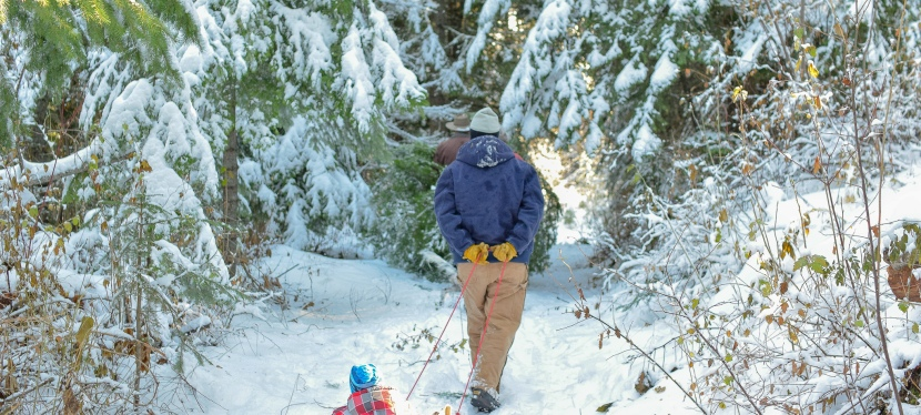 Winter Hiking Beats theBlues